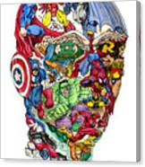 Heroic Mind Canvas Print