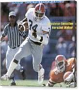 Herschel Walker, November 17, 1980 Sports Illustrated Cover Sports Illustrated Cover Canvas Print