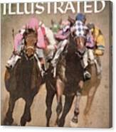Hialeah Park Racetrack Sports Illustrated Cover Canvas Print