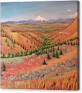 High Desert View - Mt. Hood Canvas Print