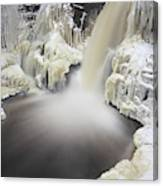 High Falls Pool Canvas Print
