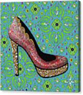 High Heel Party Canvas Print