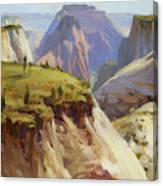 High On Zion Canvas Print