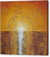 Hilton Head Sunrise Original Painting Canvas Print