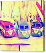 Hippie Holidays Canvas Print