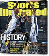 History still In The Making Sports Illustrated Cover Canvas Print