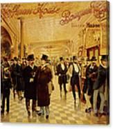 Hoffman House Bouquet Cigars Canvas Print
