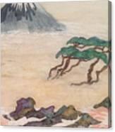 Hoitsu Through The Eyes Of Modernity Turned Backward Canvas Print