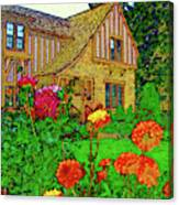 Home And Garden Canvas Print