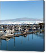Homer Alaska Fishing Port Canvas Print