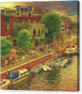 Hometown Glow Canvas Print