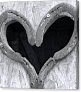 Horseshoe Heart Canvas Print