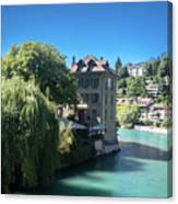 hot summer afternoon in Bern Canvas Print