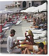 Hotel Du Cap Canvas Print