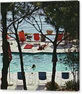 Hotel Il Pellicano Canvas Print