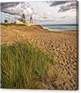 House Of Refuge Beach 10 Canvas Print