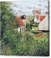 Houses At Knocke, Belgium, 1894 Canvas Print