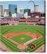 Houston Astros V St. Louis Cardinals Canvas Print