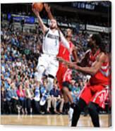 Houston Rockets V Dallas Mavericks Canvas Print