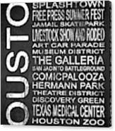 Houston Tx 6 Canvas Print