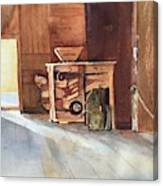 Hovander Park Old Barn, Wa Canvas Print