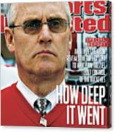 How Deep It Went An Si Investigation Reveals The Full Sports Illustrated Cover Canvas Print