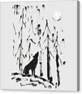 Howl #2 Canvas Print