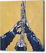 Hugh Masakela Canvas Print