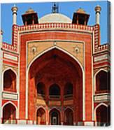 Humayuns Tomb, New Delhi Canvas Print
