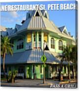 Hurricane Restaurant St. Pete Beach Canvas Print