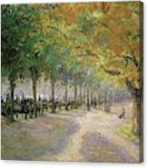 Hyde Park, London, 1890 Canvas Print