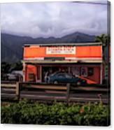 Hygienic Store, Kahalu'u Canvas Print