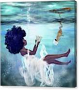 I Aint Drowning Canvas Print
