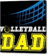 I Love Volleyball Team Player Ball Canvas Print