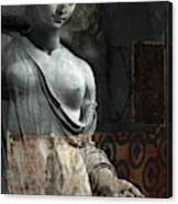 If Not For You - Statue Canvas Print