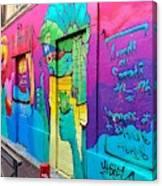 If You Love Graffiti  Canvas Print