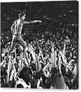 Iggy Pop Live Canvas Print