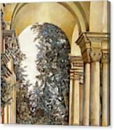Il Bosco Dopo Le Arcate Canvas Print