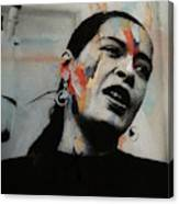 I'll Be Seeing You - Billie Holiday  Canvas Print