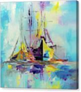 Illusive Boats Canvas Print