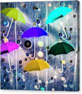 Imagination Raining Wild Canvas Print