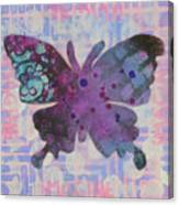Imagine Butterfly Canvas Print