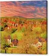 In Our English Towns Canvas Print