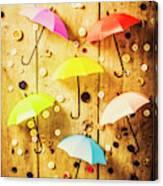 In Rainy Fashion Canvas Print