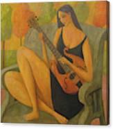 Incidental Music Canvas Print