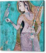 India, Rajasthan, Bundi Castle Canvas Print