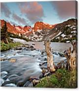 Indian Peaks Wilderness Lake Isabelle Canvas Print