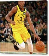 Indiana Pacers V Boston Celtics Canvas Print