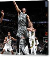 Indiana Pacers V Brooklyn Nets Canvas Print