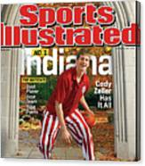 Indiana University Cody Zeller, 2012-13 College Basketball Sports Illustrated Cover Canvas Print